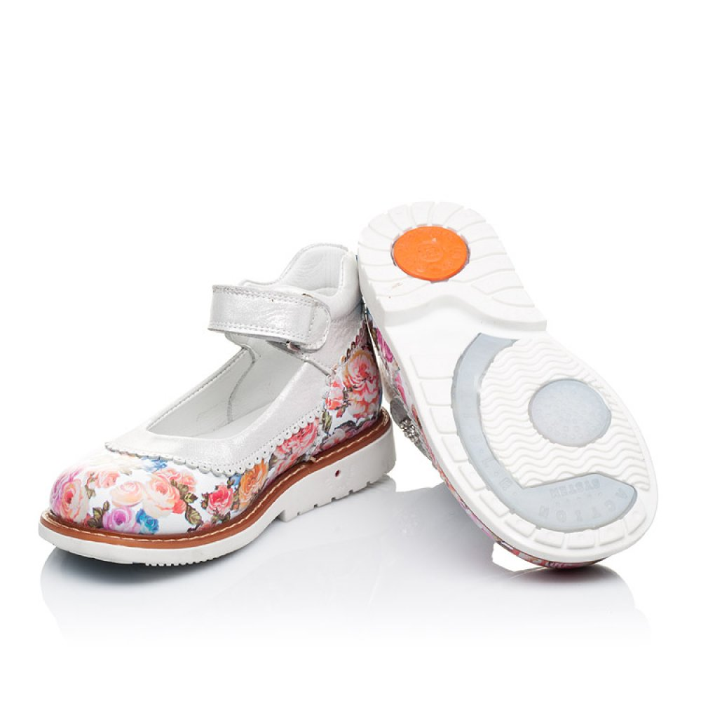 Детские туфли ортопедические Woopy Orthopedic разноцветные для девочек натуральная кожа размер 26-33 (3323) Фото 2