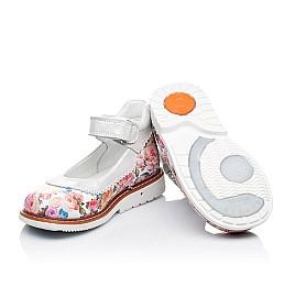 Детские туфли ортопедические Woopy Orthopedic разноцветные для девочек натуральная кожа размер 27-28 (3323) Фото 2