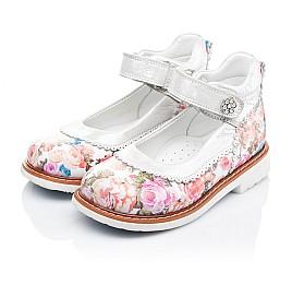 Детские туфли ортопедические Woopy Orthopedic разноцветные для девочек натуральная кожа размер 27-28 (3323) Фото 3