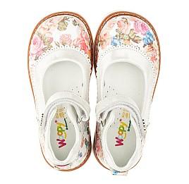 Детские туфли ортопедические Woopy Orthopedic разноцветные для девочек натуральная кожа размер 27-28 (3323) Фото 5