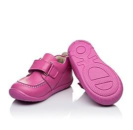 Детские мокасины Woopy Orthopedic розовые для девочек натуральная кожа размер 18-19 (3341) Фото 2