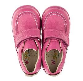 Детские мокасины Woopy Orthopedic розовые для девочек натуральная кожа размер 18-19 (3341) Фото 5
