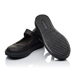 Детские туфли Woopy Orthopedic черные для девочек натуральный нубук размер 28-28 (3348) Фото 2