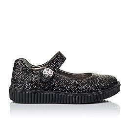 Детские туфли Woopy Orthopedic черные для девочек натуральный нубук размер 28-28 (3348) Фото 4