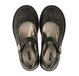 Детские туфли Woopy Orthopedic черные для девочек натуральный нубук размер 28-28 (3348) Фото 5