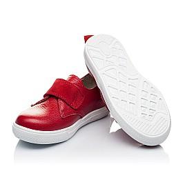Детские слипоны Woopy Orthopedic красные для девочек натуральная кожа размер 25-26 (3373) Фото 2