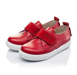 Детские слипоны Woopy Orthopedic красные для девочек натуральная кожа размер 25-26 (3373) Фото 3
