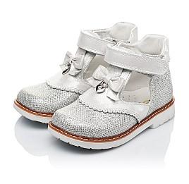 Детские туфлі ортопедичні Woopy Orthopedic серебряные для девочек современный искусственный материал размер - (3374) Фото 3