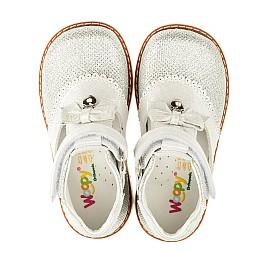 Детские туфлі ортопедичні Woopy Orthopedic серебряные для девочек современный искусственный материал размер - (3374) Фото 5