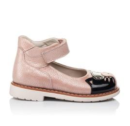 Детские туфли ортопедические Woopy Orthopedic розовые для девочек натуральная кожа размер 21-21 (3377) Фото 4