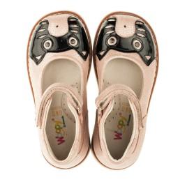 Детские туфли ортопедические Woopy Orthopedic розовые для девочек натуральная кожа размер 21-21 (3377) Фото 5
