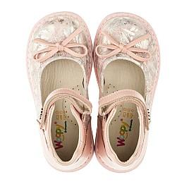 Детские туфлі ортопедичні Woopy Orthopedic пудровые для девочек  натуральная кожа размер - (3384) Фото 5