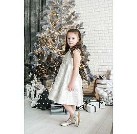 Детские туфлі Woopy Orthopedic серебряные для девочек  натуральная кожа размер - (3391) Фото 6