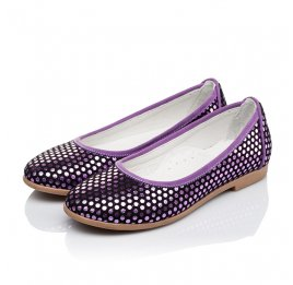 Детские туфли Woopy Orthopedic фиолетовые для девочек натуральная замша размер 31-37 (3395) Фото 3