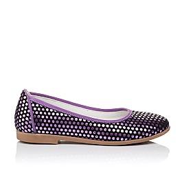 Детские туфли Woopy Orthopedic фиолетовые для девочек натуральная замша размер 31-37 (3395) Фото 4