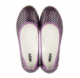 Детские туфли Woopy Orthopedic фиолетовые для девочек натуральная замша размер 31-37 (3395) Фото 5
