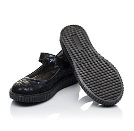 Детские туфли Woopy Orthopedic темно-синие для девочек  натуральная кожа размер 36-36 (3398) Фото 2