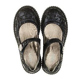 Детские туфли Woopy Orthopedic темно-синие для девочек  натуральная кожа размер 36-36 (3398) Фото 5