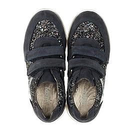 Детские кроссовки Woopy Orthopedic темно-синие для девочек натуральный нубук, современный искусственный материал размер 26-40 (3399) Фото 5