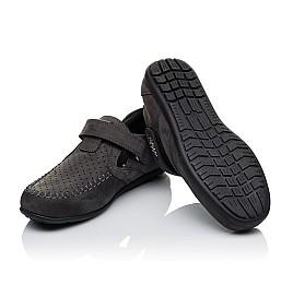 Детские туфли Woopy Orthopedic серые для мальчиков натуральный нубук размер 32-36 (3400) Фото 2