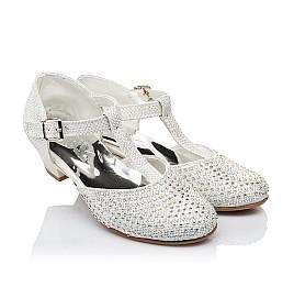 Детские туфлі Woopy Orthopedic серебряный для девочек современный текстиль размер - (3414) Фото 1