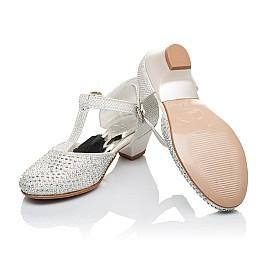 Детские туфлі Woopy Orthopedic серебряный для девочек современный текстиль размер - (3414) Фото 2