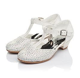 Детские туфлі Woopy Orthopedic серебряный для девочек современный текстиль размер - (3414) Фото 3