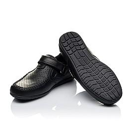 Детские туфли Woopy Orthopedic черные для мальчиков натуральная кожа размер 31-37 (3415) Фото 2