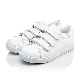 Детские кеды Woopy Orthopedic белые для девочек натуральная кожа размер 27-27 (3431) Фото 3