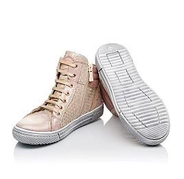Для девочек Демисезонные ботинки (внутри кожа) 3433