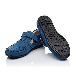 Детские туфли Woopy Orthopedic синие для мальчиков натуральный нубук размер 35-35 (3434) Фото 2
