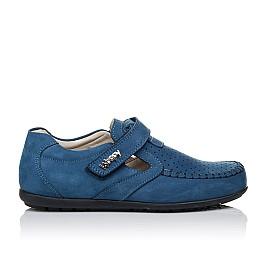 Детские туфли Woopy Orthopedic синие для мальчиков натуральный нубук размер 35-35 (3434) Фото 4