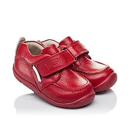 Детские мокасины Woopy Orthopedic красные для девочек натуральная кожа размер 18-23 (3440) Фото 1