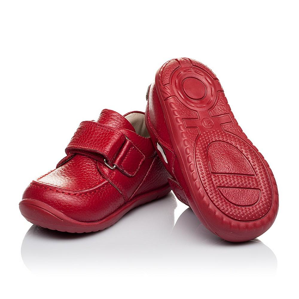 Детские мокасины Woopy Orthopedic красные для девочек натуральная кожа размер 18-25 (3440) Фото 2