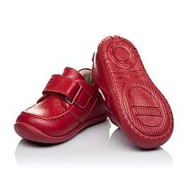 Детские мокасины Woopy Orthopedic красные для девочек натуральная кожа размер 18-23 (3440) Фото 2