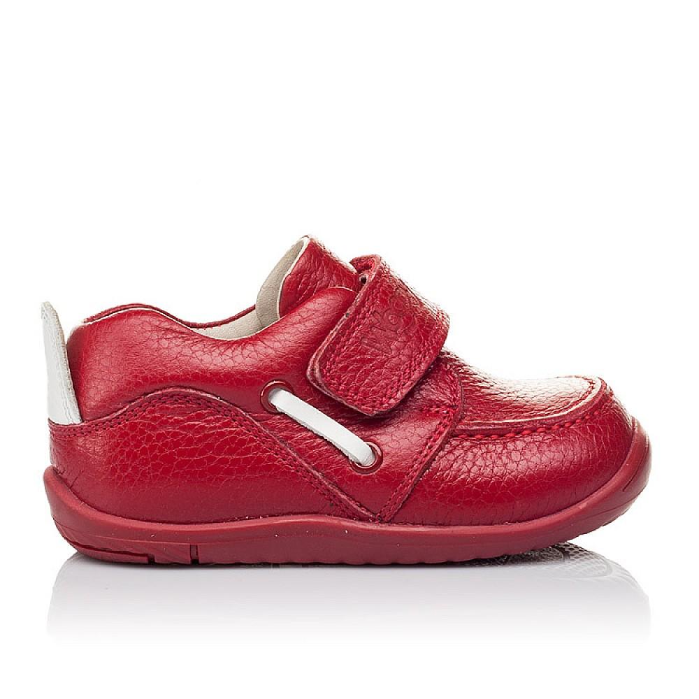 Детские мокасины Woopy Orthopedic красные для девочек натуральная кожа размер 18-25 (3440) Фото 4