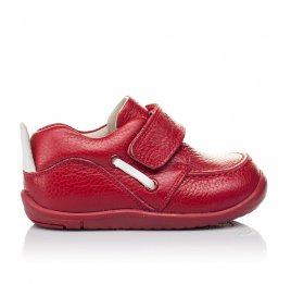 Детские мокасины Woopy Orthopedic красные для девочек натуральная кожа размер 18-23 (3440) Фото 4