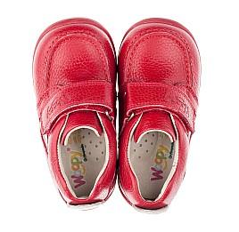 Детские мокасины Woopy Orthopedic красные для девочек натуральная кожа размер 18-23 (3440) Фото 5
