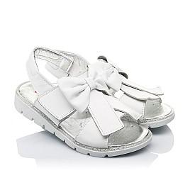 Детские босоножки Woopy Orthopedic белые для девочек натуральная кожа размер 28-30 (3489) Фото 1