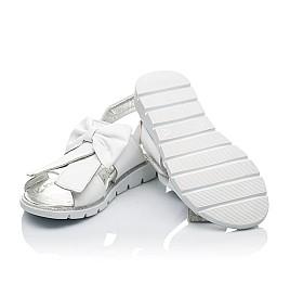 Детские босоножки Woopy Orthopedic белые для девочек натуральная кожа размер - (3489) Фото 4