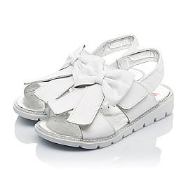 Детские босоножки Woopy Orthopedic белые для девочек натуральная кожа размер 28-30 (3489) Фото 5