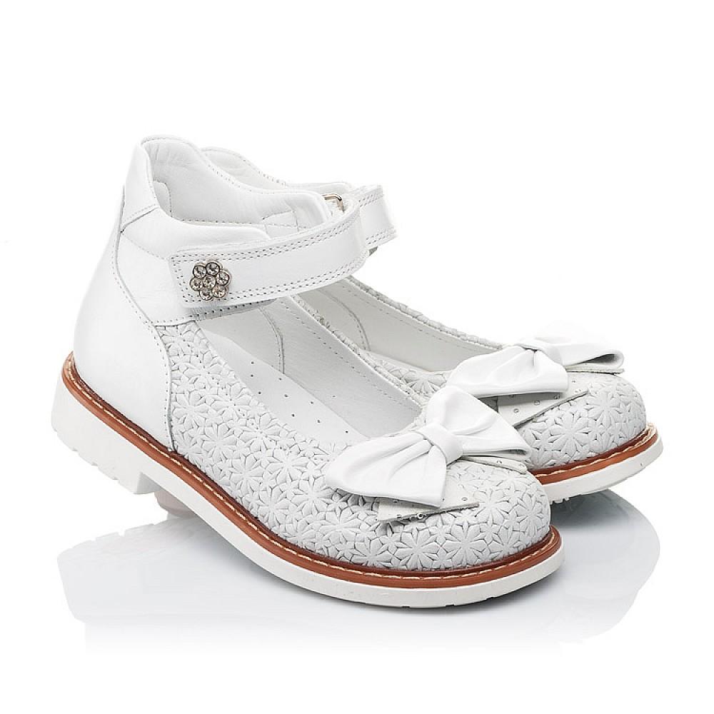Детские туфлі Woopy Orthopedic  для девочек натуральна шкіра размер 18-33 (3496) Фото 1