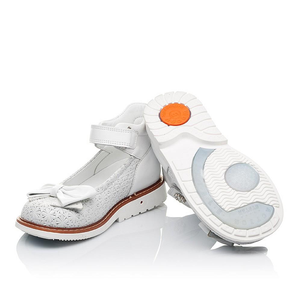 Детские туфлі Woopy Orthopedic  для девочек натуральна шкіра размер 18-33 (3496) Фото 2