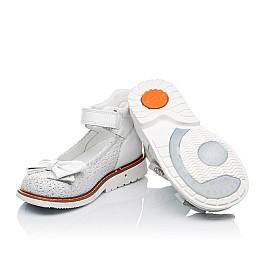 Детские туфли Woopy Orthopedic белые для девочек натуральная кожа размер 18-23 (3496) Фото 2