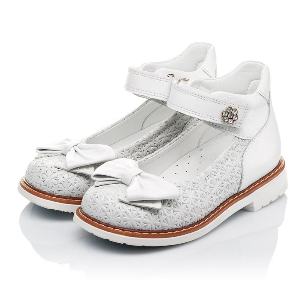 Детские туфлі Woopy Orthopedic  для девочек натуральна шкіра размер 18-33 (3496) Фото 3