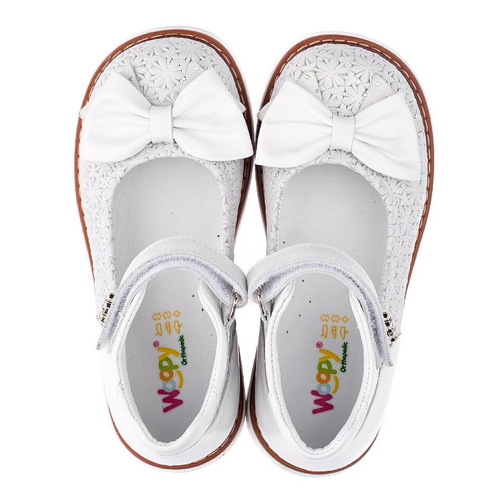 Детские туфлі Woopy Orthopedic  для девочек натуральна шкіра размер 18-33 (3496) Фото 5