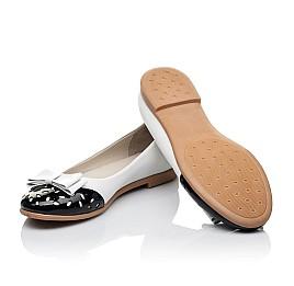 83f032757b8c81 Детские туфлі Woopy Orthopedic белые,черные для девочек натуральная кожа /  лаковая кожа размер -