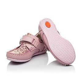 Детские мокасины Woopy Orthopedic розовые для девочек натуральная кожа размер - (3517) Фото 2