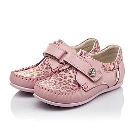 4add410eb24cd3 Детские мокасини Woopy Orthopedic розовые для девочек натуральная кожа  размер - (3517) Фото 3