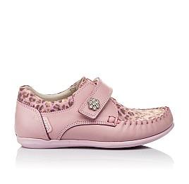 3d99ae779e9c33 Детские мокасини Woopy Orthopedic розовые для девочек натуральная кожа  размер - (3517) Фото 4